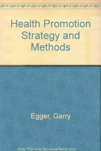9780074527825: Health Promotion Strategies and Methods