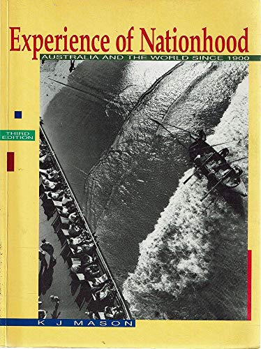9780074528396: Experience of Nationhood: Australia and the World since 1900: Years 9-10