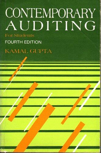 9780074601297: Contemporary Auditing for Students