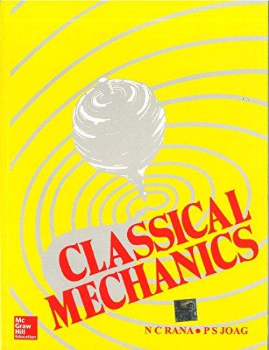 Classical Mechanics: N.C. Rana,P.S. Joag