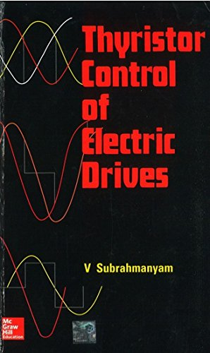 9780074603413: Thyristor Control of Electric Drives