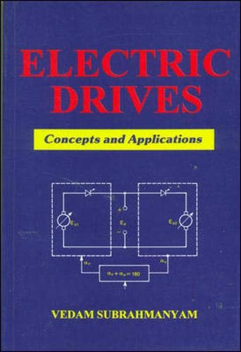9780074603703: ELECTRIC DRIVES: CONCEPTS AND APPLICATIONS