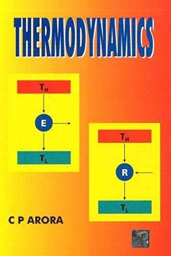 Thermodynamics: C. P. Arora