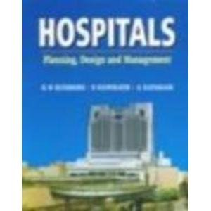 9780074622117: Hospitals: Planning, design, and management
