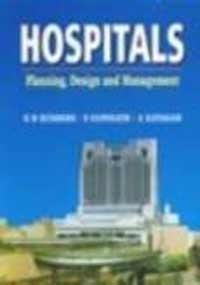 9780074622117: Hospitals: Planning, design, and management