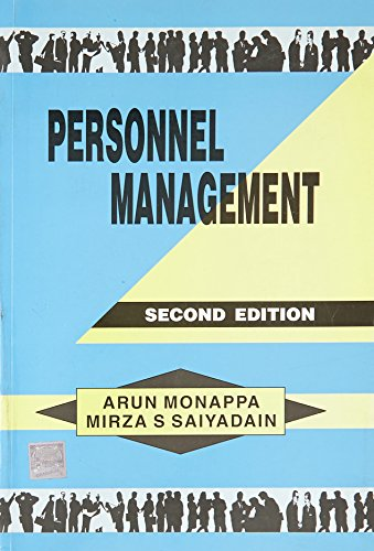 Personnel Management, 2Ed: Arun Monappa, Mirza