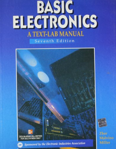 9780074624982: Basic Electronics : A Text Lab Manual, 7Ed