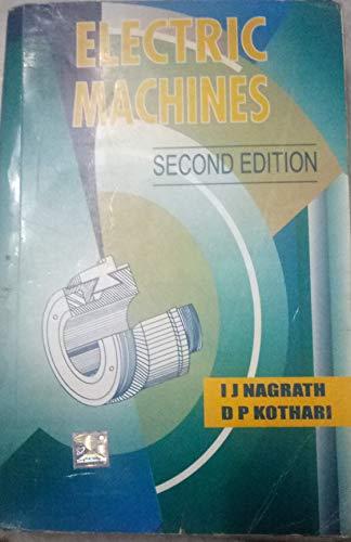 Electric Machines: I. J. Nagrath