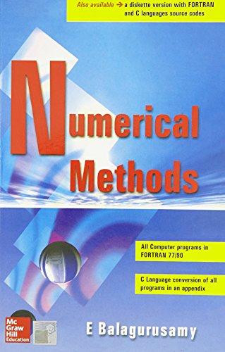 9780074633113: NUMERICAL METHODS