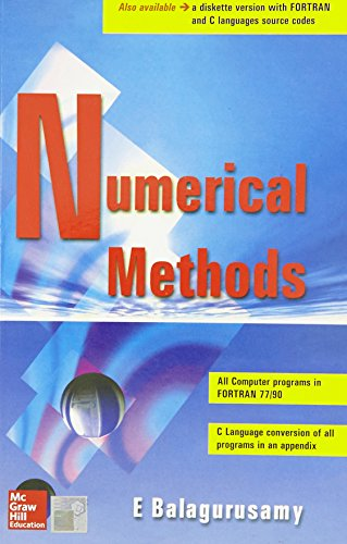 Numerical Methods: E. Balagurusamy