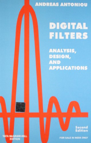 9780074635124: Digital Filters: Analysis, Design and Applications