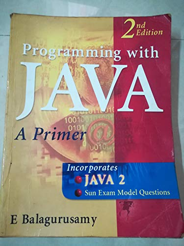 9780074635421: Programming with Java
