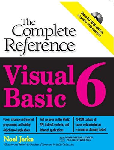 Visual Basic 6: The Complete Reference: Noel Jerke