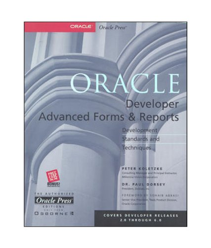 9780074637784: Oracle Developer Advanced Forms & Reports
