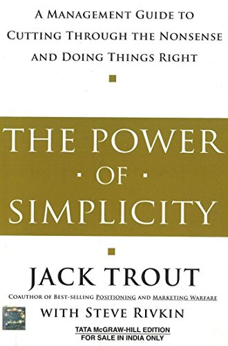 9780074639146: The Power Of Simplicity