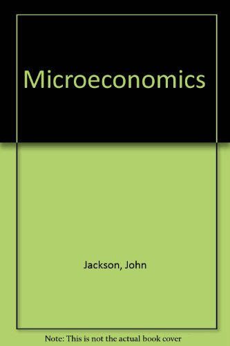 9780074701164: Microeconomics ( Fourth edition.)