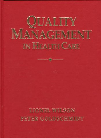 9780074702475: Quality Management in Healthcare