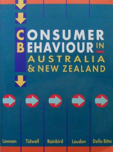 9780074702598: Consumer Behaviour in Australasia