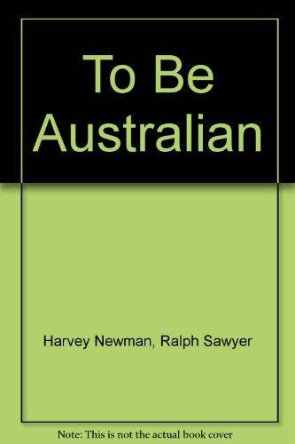9780074703854: To Be Australian
