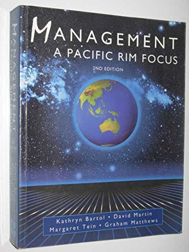 9780074704318: Management Pacific Rim Focus