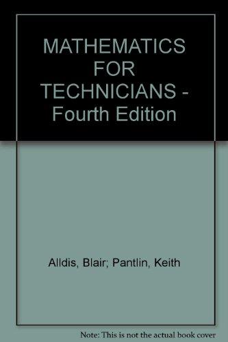 Mathematics for Technicians: ALLDIS Blair K.