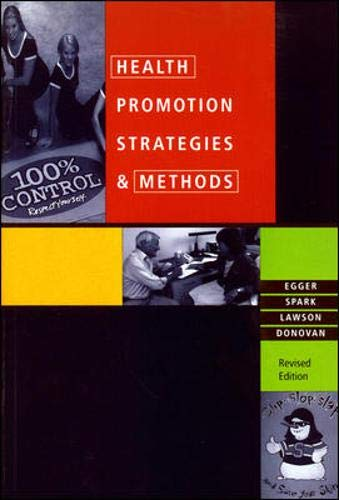 9780074704837: Health Promotion Strategies and Methods