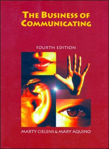 9780074706114: The Business of Communication 4e
