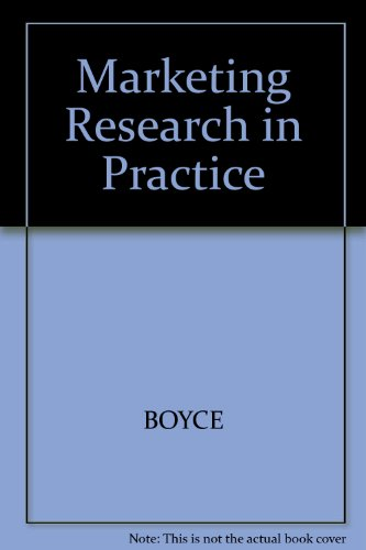9780074707579: Marketing Research in Practice
