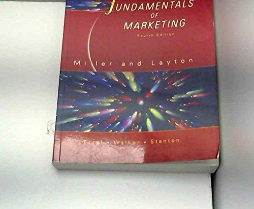 9780074707647: Fundamentals of Marketing