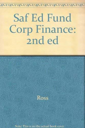 Fundamentals of Corporate Finance: Stephen Ross, Randolph