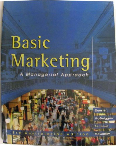 9780074708354: Basic Marketing Mgrl Persp: A Managerial Perspective