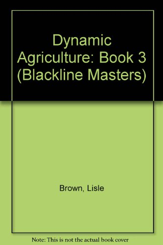 9780074708675: Dynamic Agriculture: Book 3 (Blackline Masters)