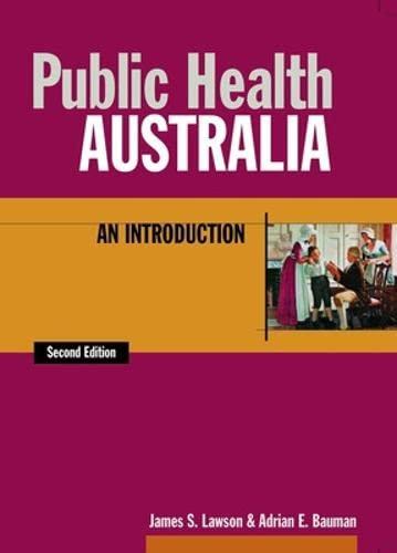 9780074708781: Public Health Australia: an Introduction: An Introduction