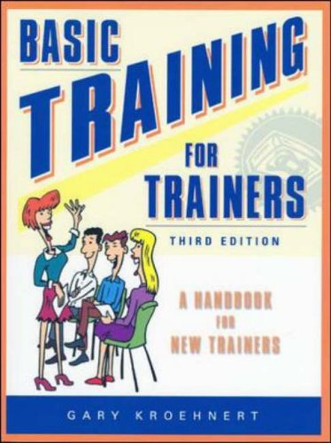 9780074709139: Basic Training for Trainers: A Handbook for New Trainers