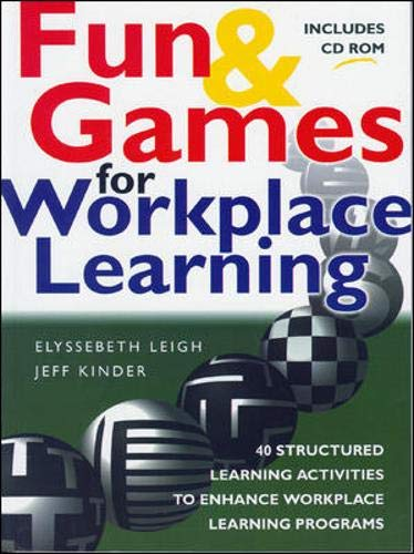 9780074710517: Fun & Games for Workplace Learning (With CD-ROM)