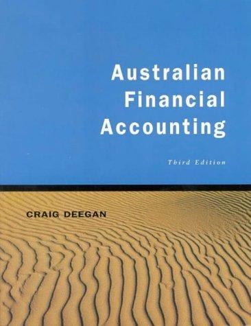9780074710555: Australian Financial Accounting