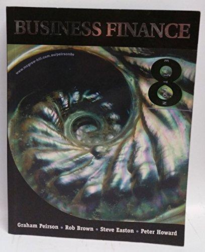 9780074711248: Business Finance