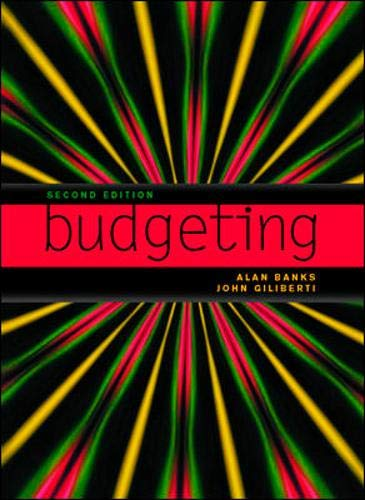 9780074711712: Budgeting