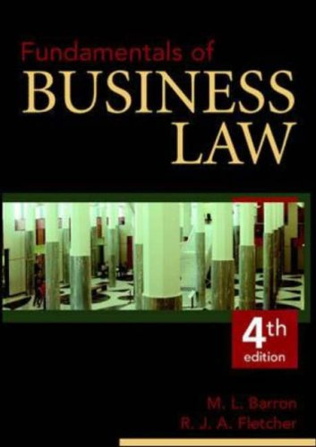 9780074711729: Fundamentals of Business Law (Australia Higher Education Vet Management)