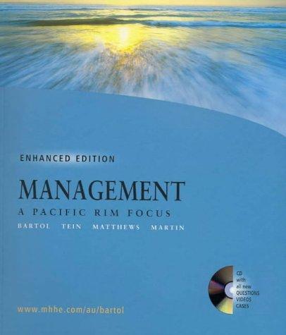 9780074711897: Management: A Pacific Rim Focus