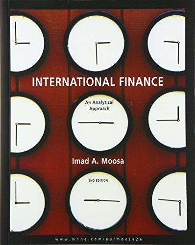 9780074712283: International Finance: An Analytical Approach