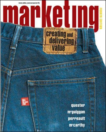9780074712290: Marketing: AND Online Card: Creating and Delivering Value