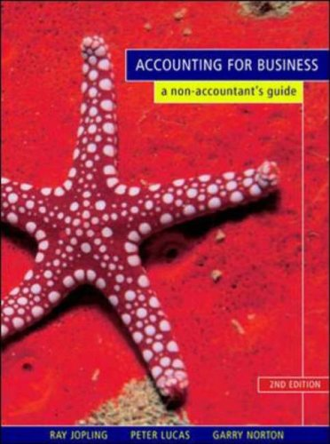 9780074712320: Accounting for Business: A Non-accountant's Guide