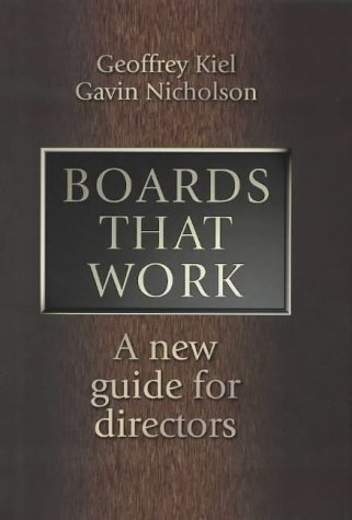 9780074712375: Boards That Work: A New Guide for Directors