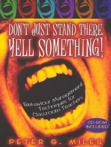 9780074713174: Don't Just Stand There, Yell Something! (with CD-ROM)
