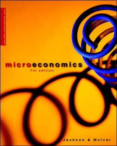 9780074713242: Microeconomics