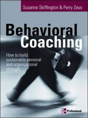 9780074713280: Behavioral Coaching