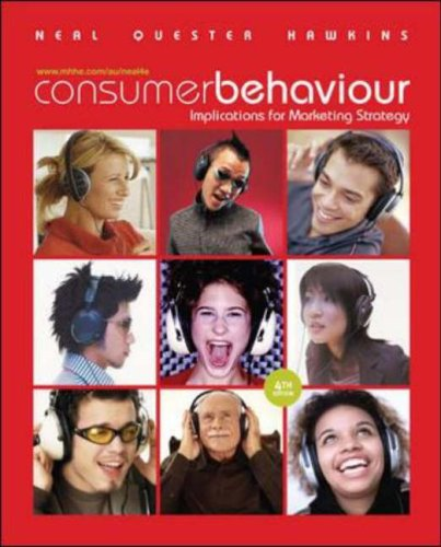 9780074713495: Consumer Behaviour: Implications for Marketing Strategy
