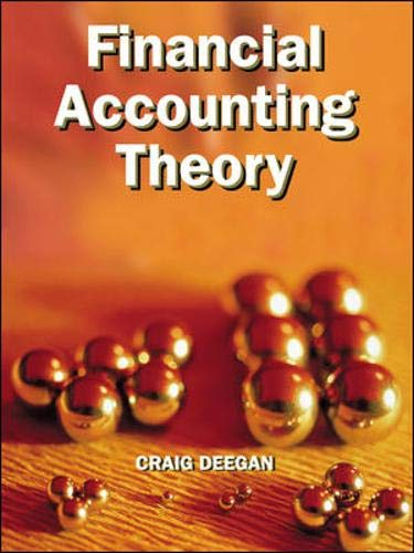 9780074713563: Financial Accounting Theory