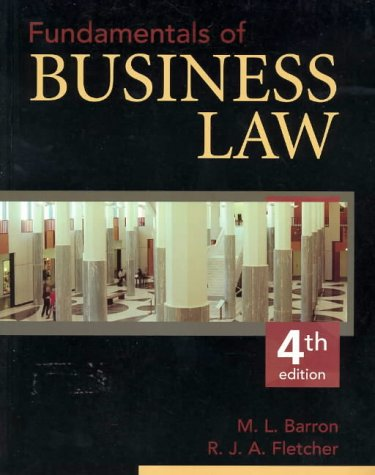 9780074713716: Fundamentals of Business Law